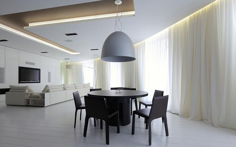 Квартира. столовая из проекта , фото №22165