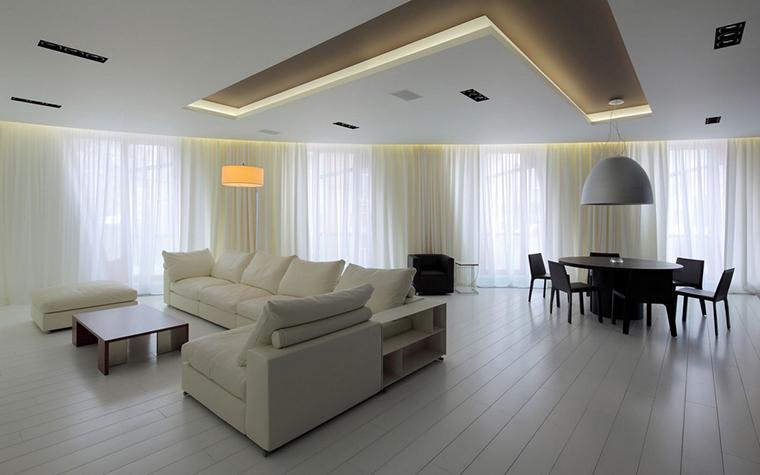 Квартира. гостиная из проекта , фото №22155
