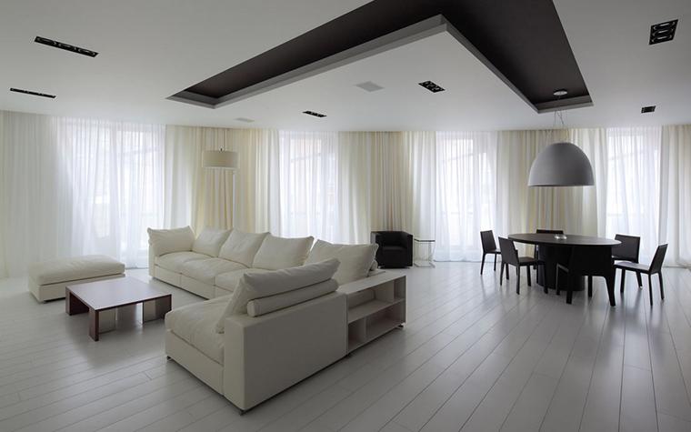 Квартира. гостиная из проекта , фото №22156