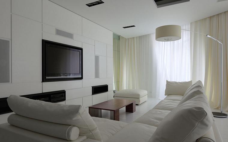Квартира. гостиная из проекта , фото №22157