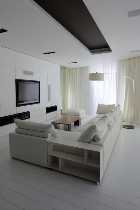 интерьер гостиной - фото № 22158