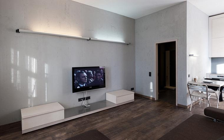 Квартира. гостиная из проекта , фото №22199