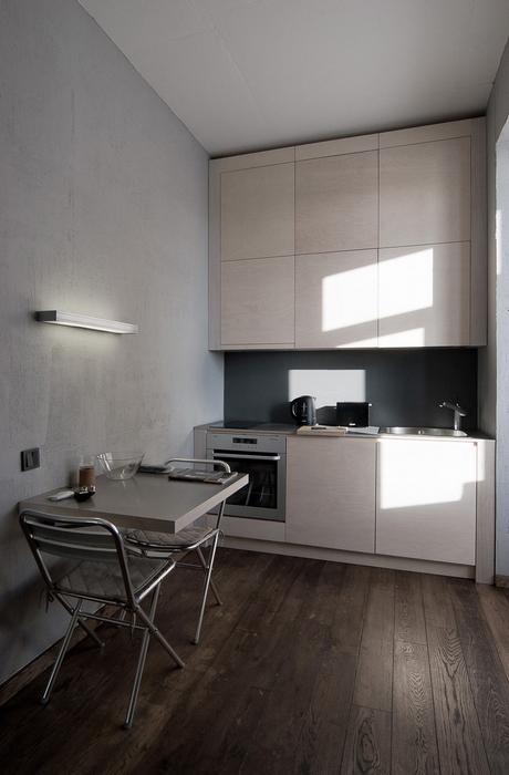 Квартира. кухня из проекта , фото №22203