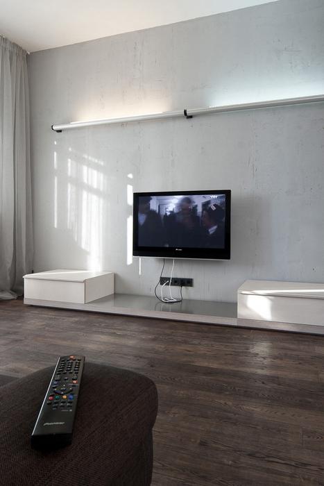 Квартира. гостиная из проекта , фото №22209
