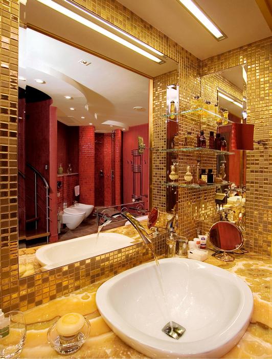 Квартира. ванная из проекта , фото №22232
