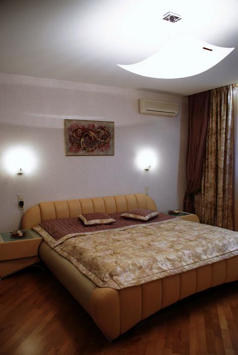 Квартира. спальня из проекта , фото №22259