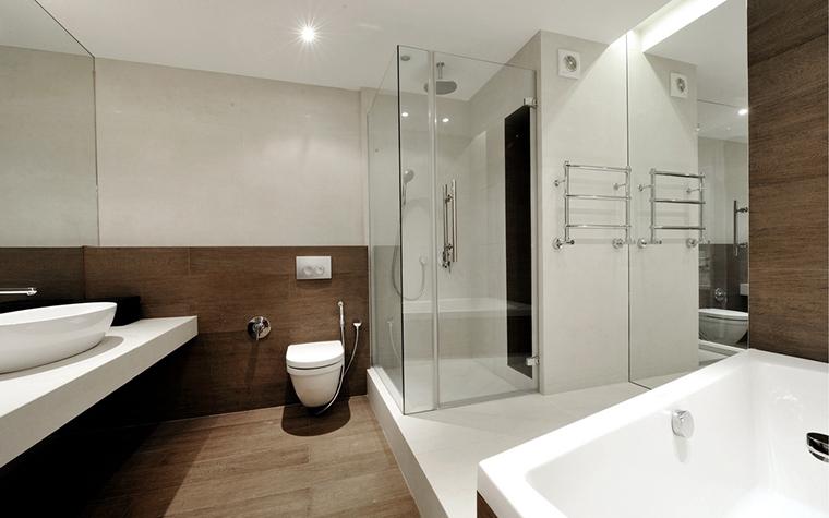Квартира. ванная из проекта , фото №22434