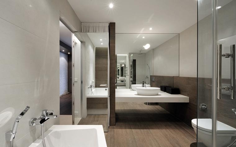Квартира. ванная из проекта , фото №22435