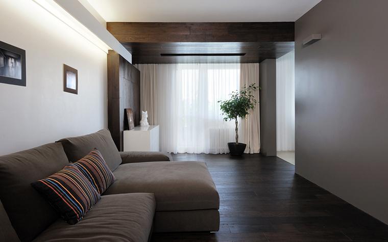 Квартира. гостиная из проекта , фото №22424