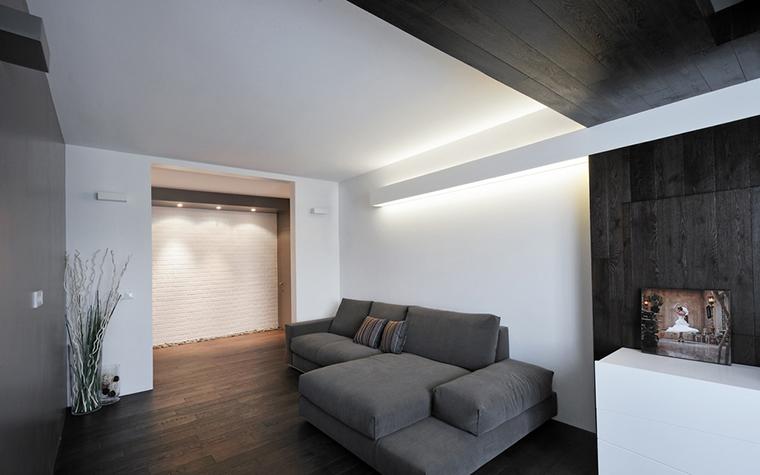 Квартира. гостиная из проекта , фото №22425