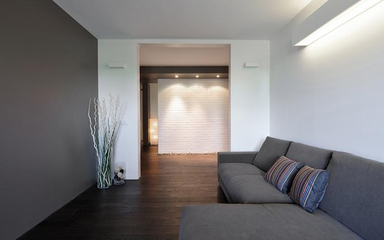 Квартира. гостиная из проекта , фото №22426