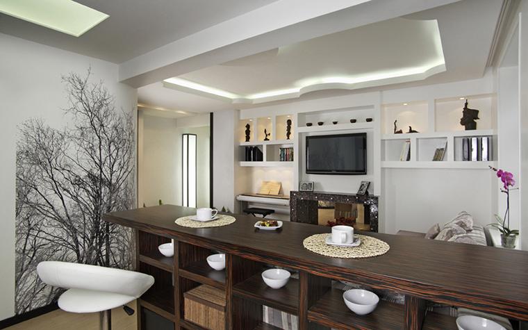 интерьер гостиной - фото № 22452