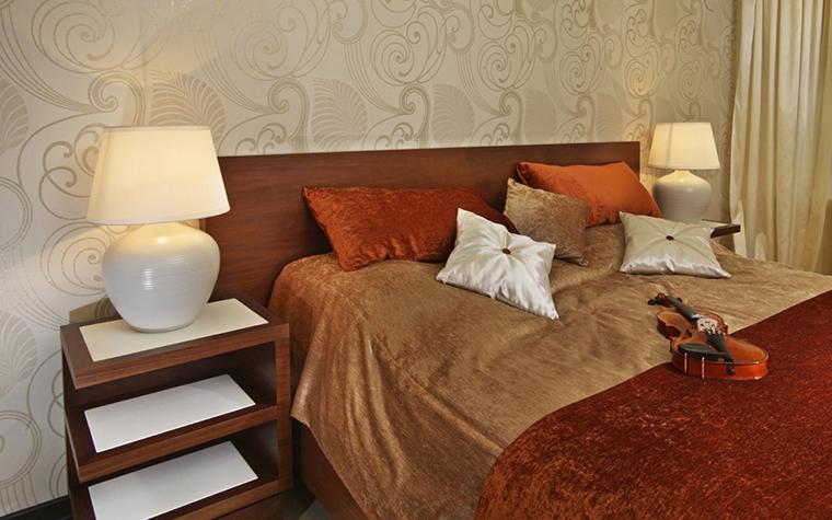Квартира. спальня из проекта , фото №22459