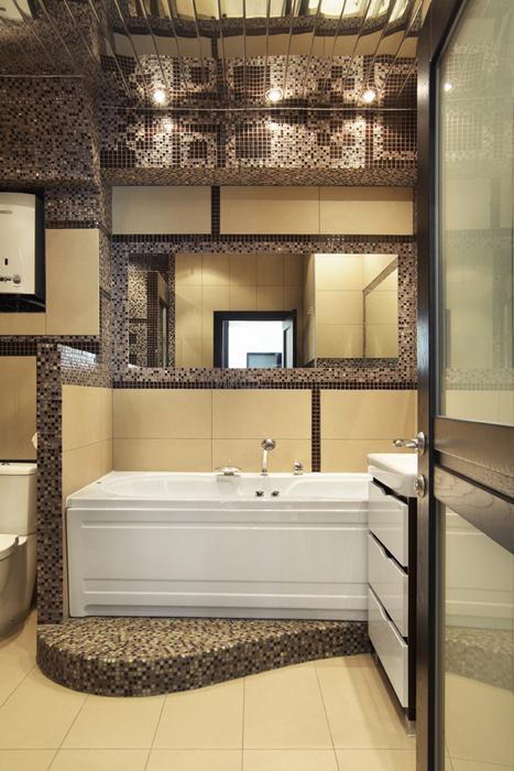 Квартира. ванная из проекта , фото №22464