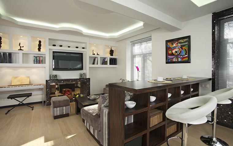 интерьер гостиной - фото № 22453