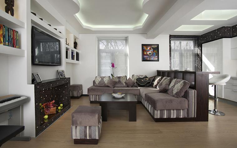 интерьер гостиной - фото № 22455