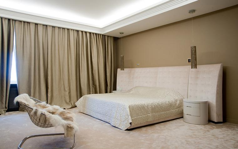 Квартира. спальня из проекта , фото №22563