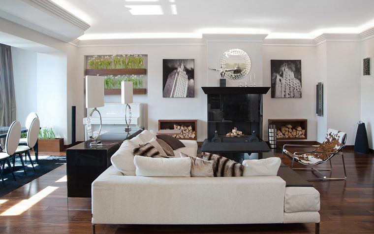 Квартира. гостиная из проекта , фото №22559