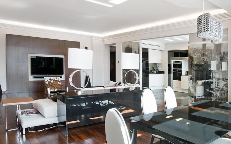 Квартира. гостиная из проекта , фото №22560