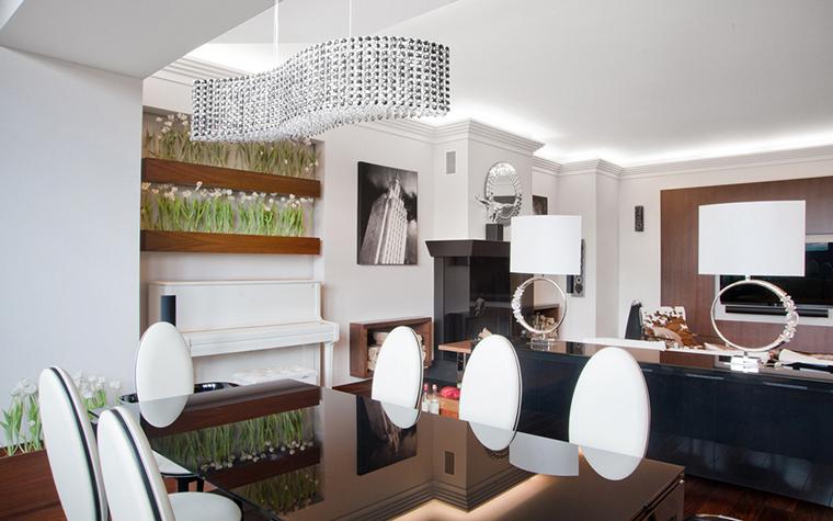 Квартира. столовая из проекта , фото №22590