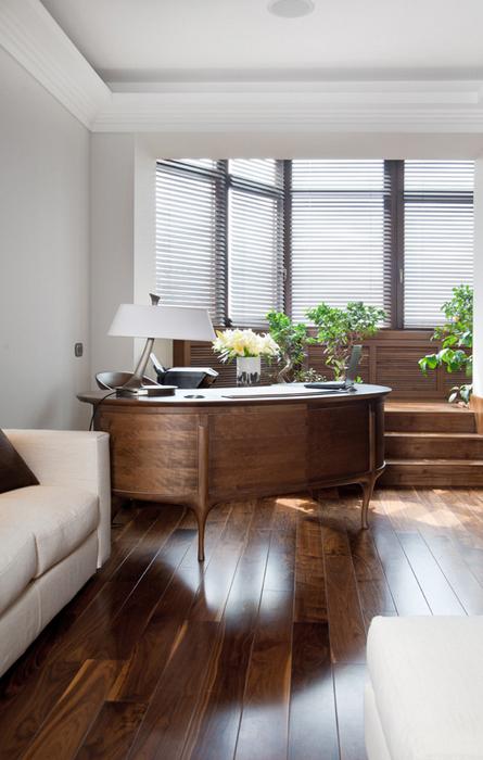 Квартира. кабинет из проекта , фото №22564