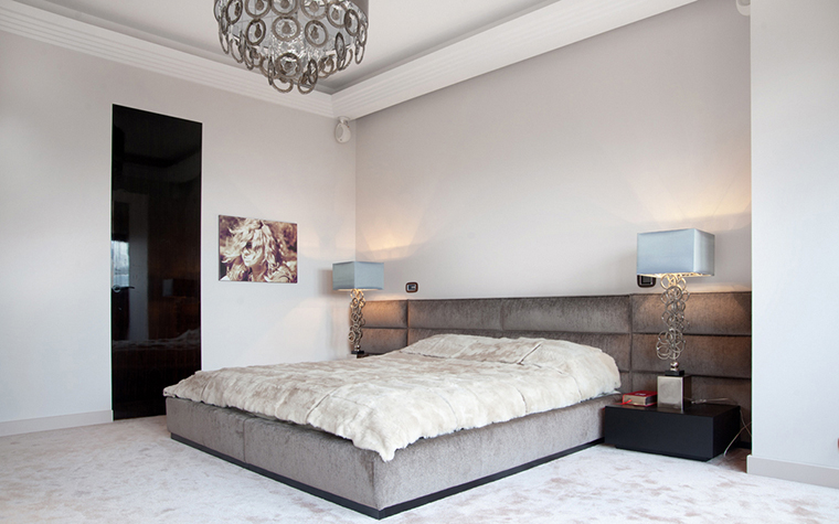 Квартира. спальня из проекта , фото №22562