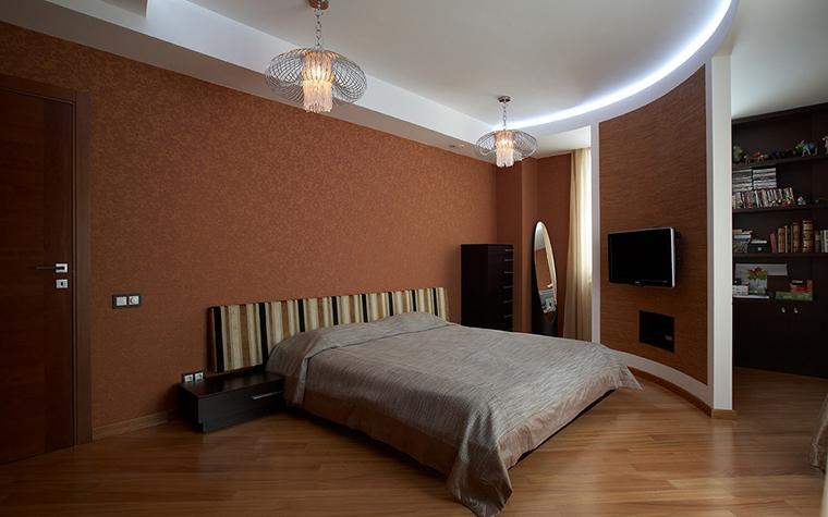 Квартира. спальня из проекта , фото №22734