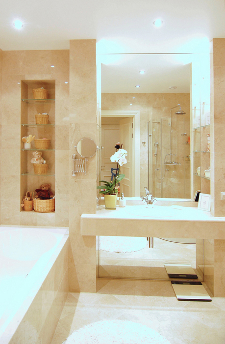 Квартира. ванная из проекта , фото №22832