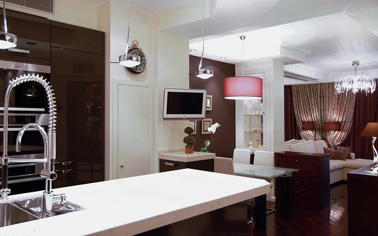 Квартира. кухня из проекта , фото №22829