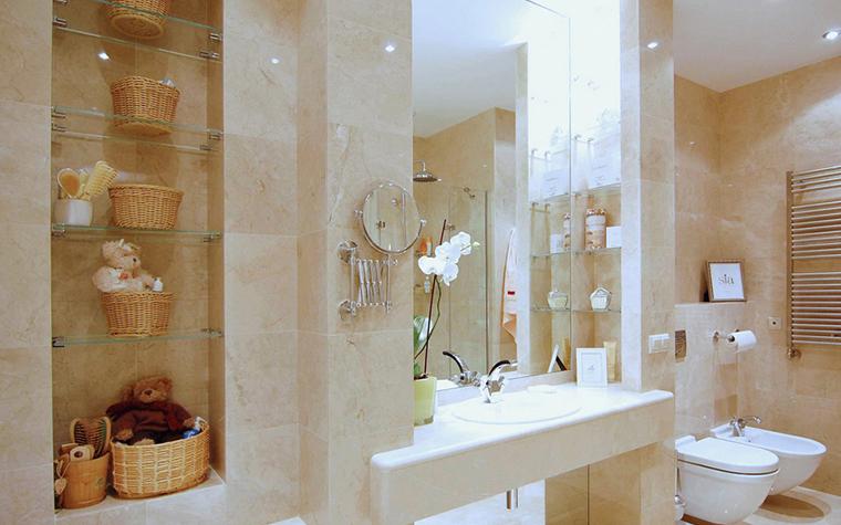 Квартира. ванная из проекта , фото №22833