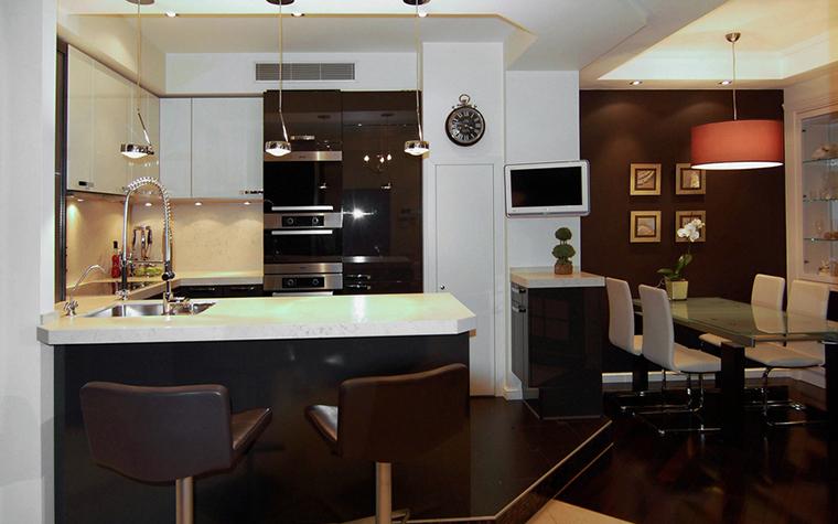 Квартира. кухня из проекта , фото №22830