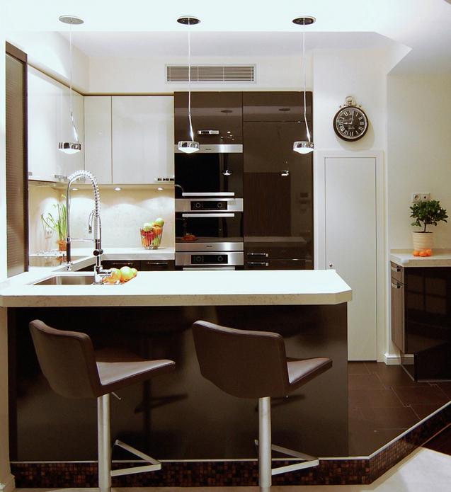 Квартира. кухня из проекта , фото №22827