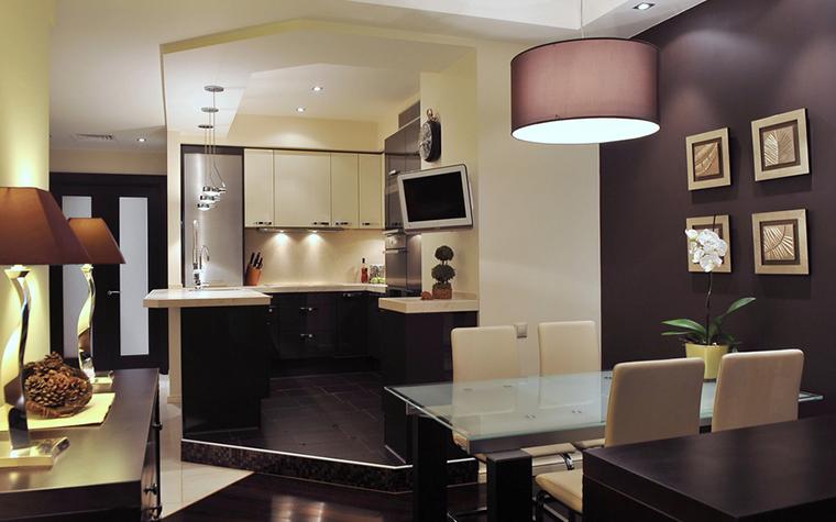 Квартира. кухня из проекта , фото №22828
