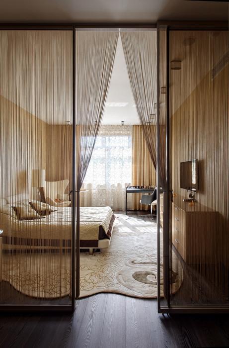 Квартира. спальня из проекта , фото №22841
