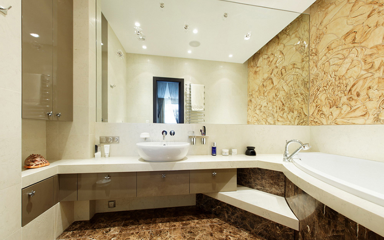 Квартира. ванная из проекта , фото №22846