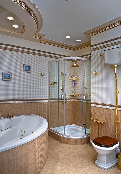 Квартира. ванная из проекта , фото №22855
