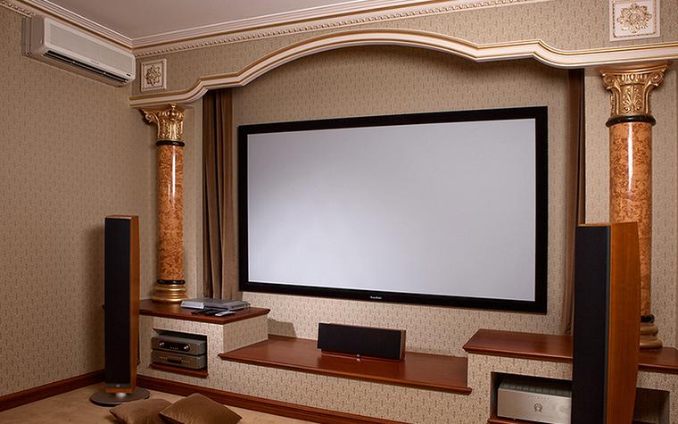интерьер домашнего кинотеатра - фото № 22866
