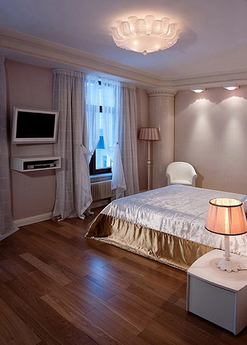 Квартира. спальня из проекта , фото №22944