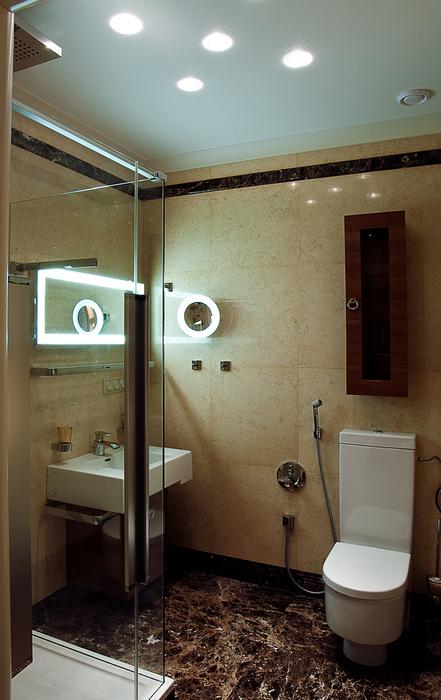Квартира. ванная из проекта , фото №22947