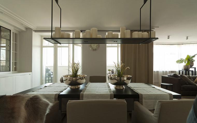 Квартира. столовая из проекта , фото №22961