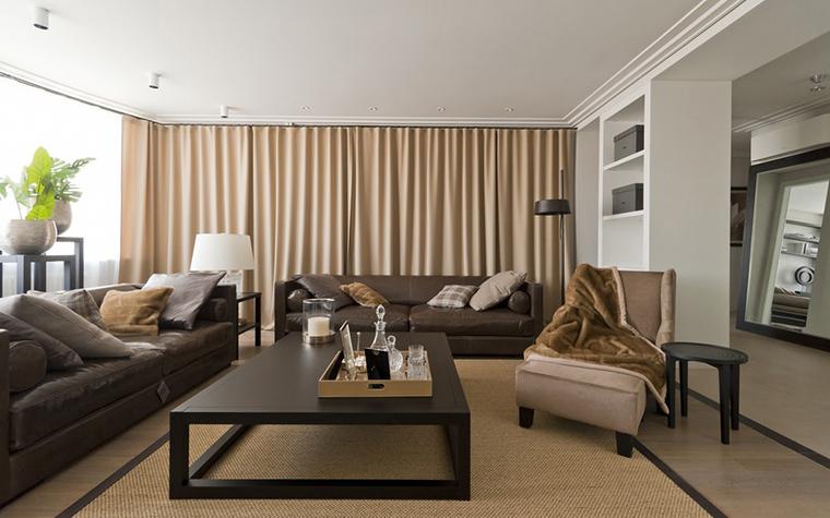 Фото № 22955 гостиная  Квартира