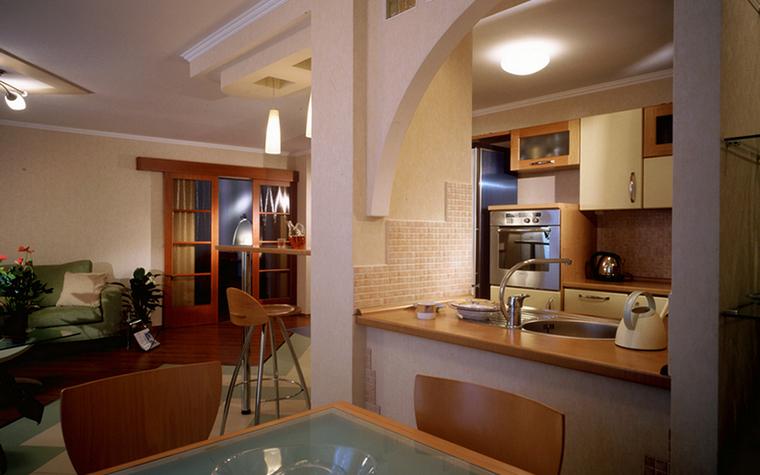 Квартира. кухня из проекта , фото №23070