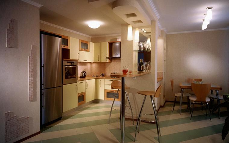 Квартира. кухня из проекта , фото №23071