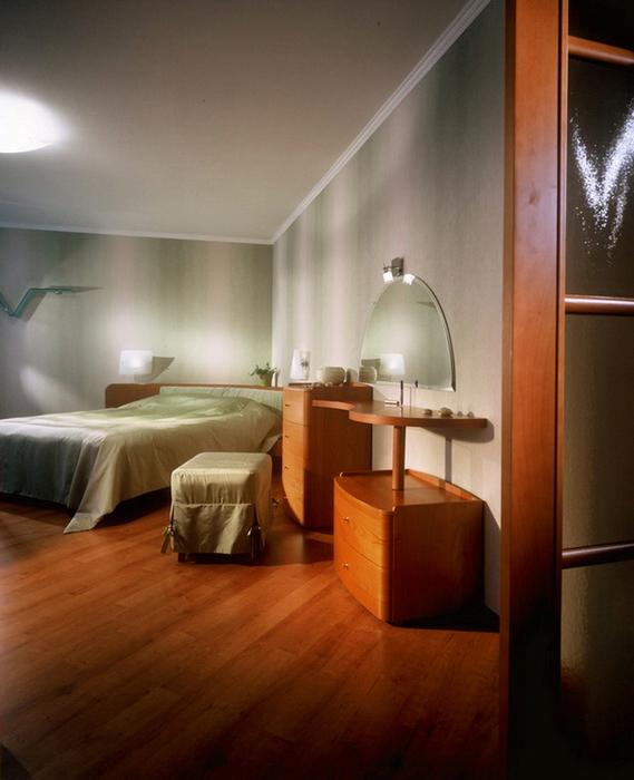 Квартира. спальня из проекта , фото №23073