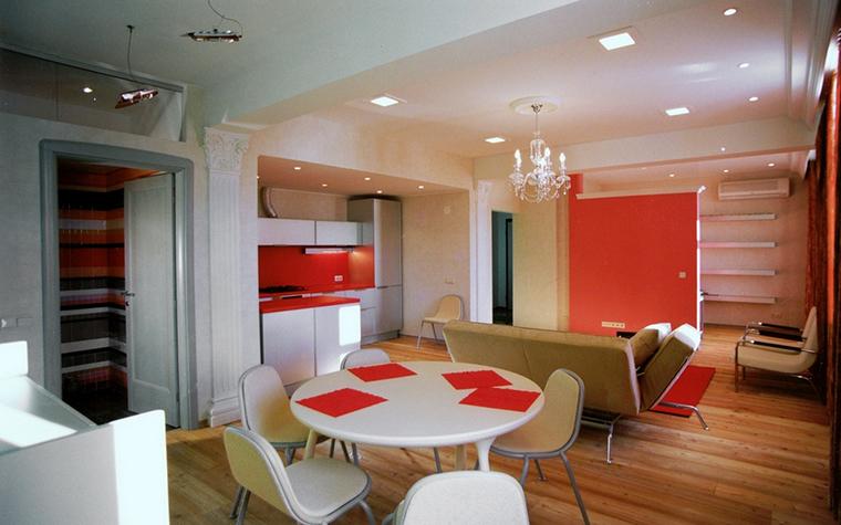 Квартира. гостиная из проекта , фото №23083