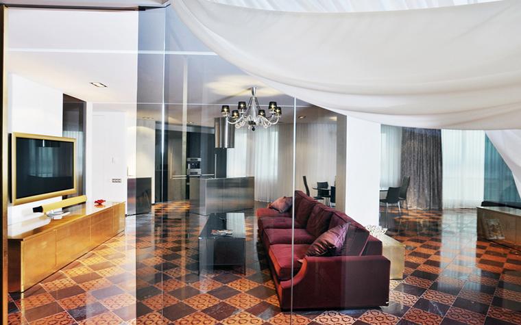 Квартира. гостиная из проекта , фото №23165