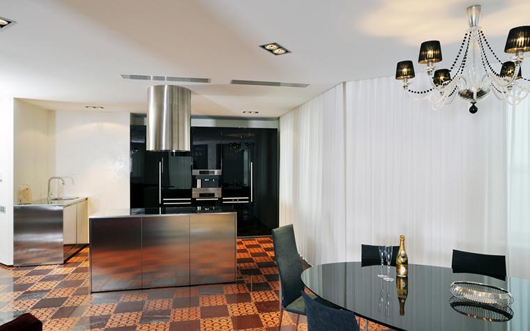 Квартира. кухня из проекта , фото №23160