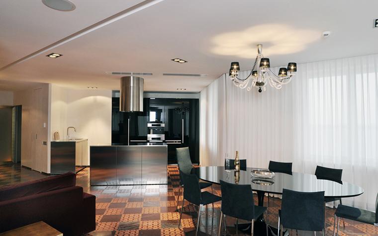 Квартира. кухня из проекта , фото №23161