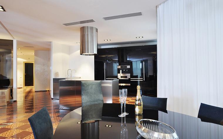 Квартира. кухня из проекта , фото №23162