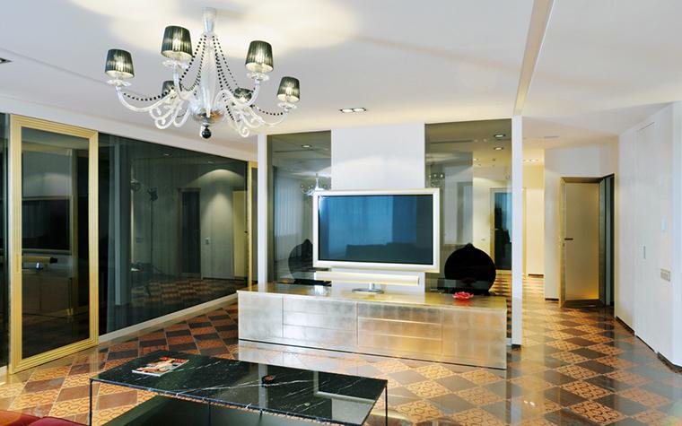 Квартира. гостиная из проекта , фото №23166